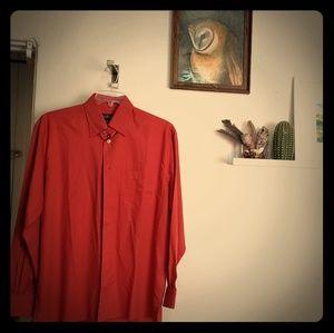 Red Ermenegildo Zegna long sleeve